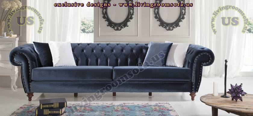 elegance chesterfield couch design