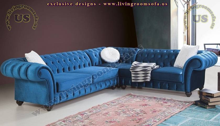 Elegant Chesterfield Sectional Sofa Catalog Luxury Living Room Designs