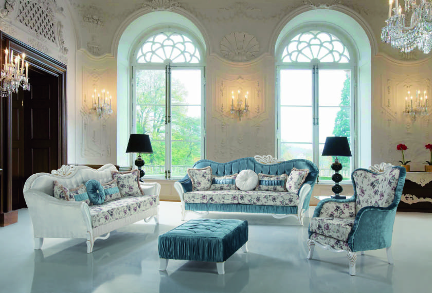 Elegant Formal Living Room Sofa Set Design Ideas