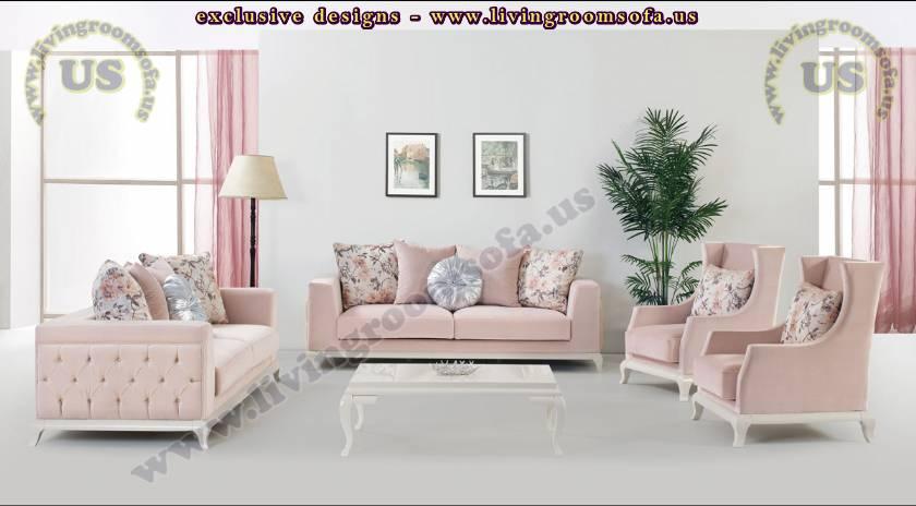 elegant sofa design modern pink elegant living room