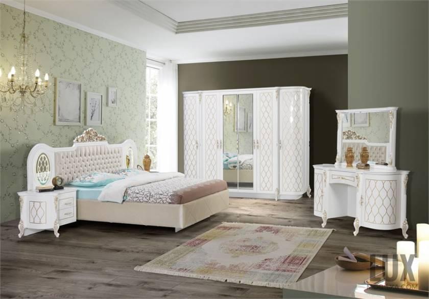Honeycomb luxury modern bedroom furniture design new style
