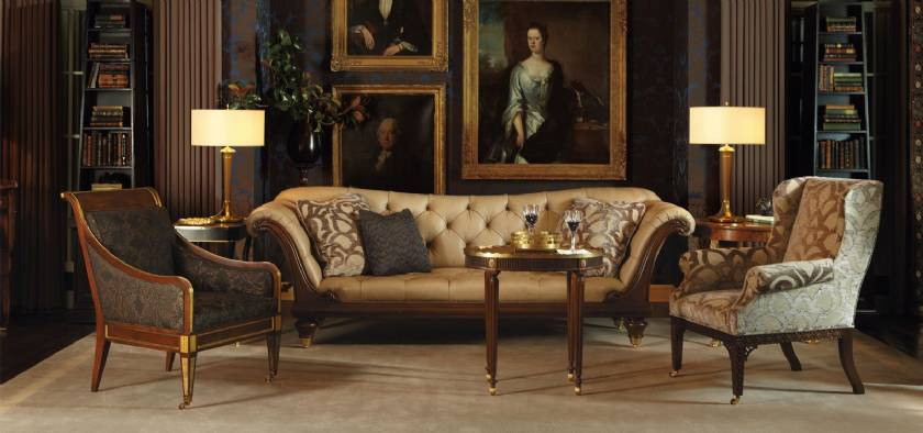 Inlaid Sofa for Living Room Luxury Italian Sofa Designs Classic Living Room Furniture