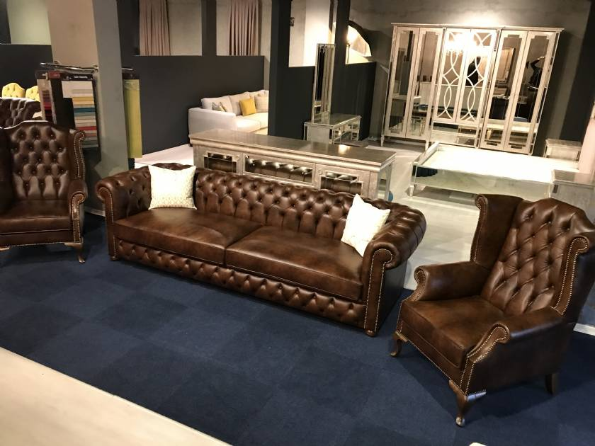 Leather Classic American Chairs Classic UK Chesterfield sofas