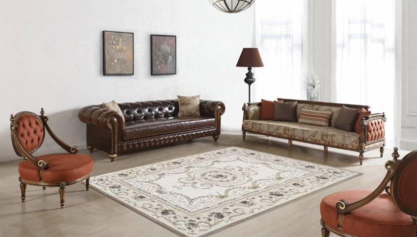 Living Room Leather Sofa Couch Chairs Luxury Living Room Designs