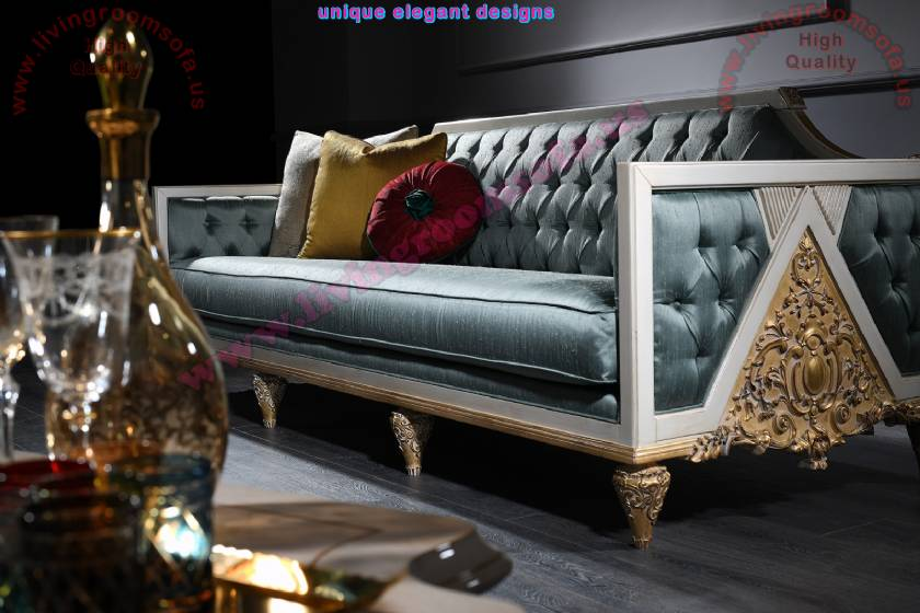 Luxurious elegance sofa design art deco