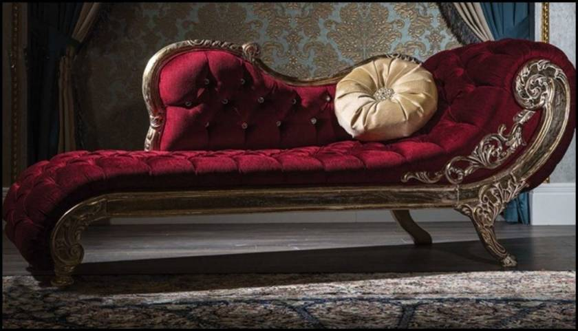 Luxury Bedroom Classic Chaise Lounge