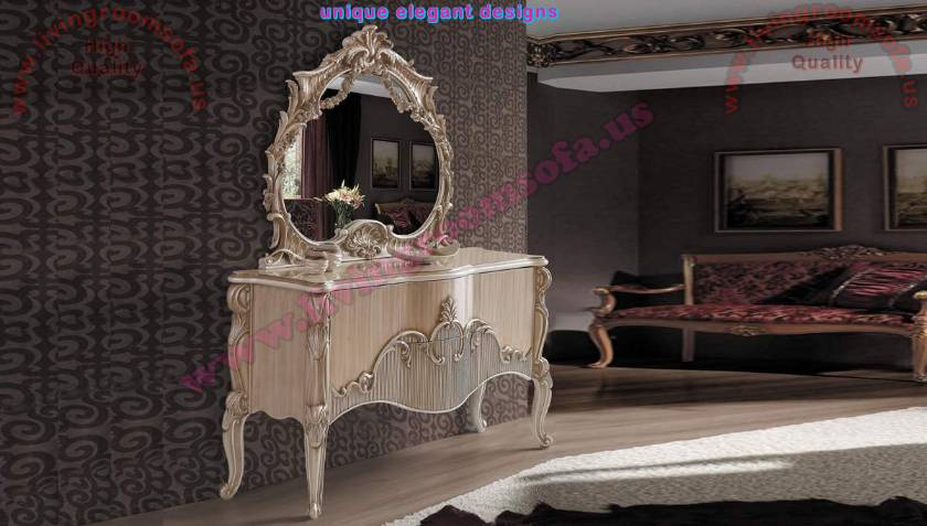 Luxury carved chest of drawers handmade bedroom furniture