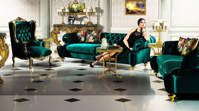 Luxury european classic Living Room Sofa Sets