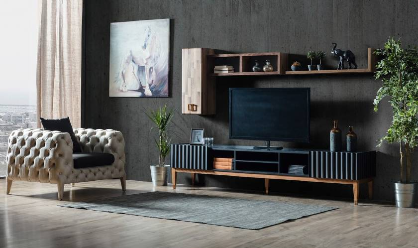 luxury high end designer TV media units modern luxury homes designs