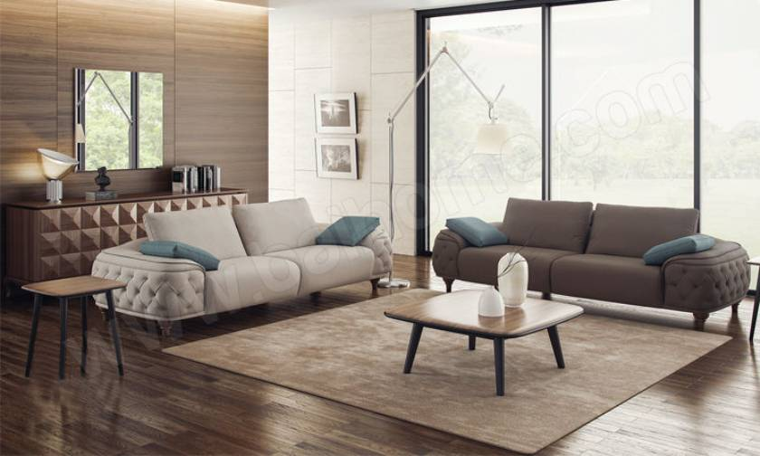 luxury modern sofa set minimalist living room design