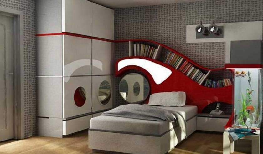 Luxury Modern Teen Bedroom Furniture New Design