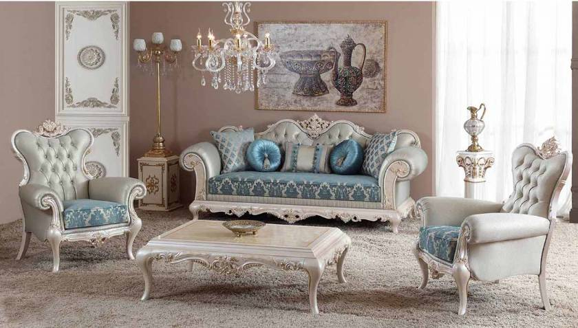 Luxury Sofa in classic living room Furniture Sofas Classic style Luxury