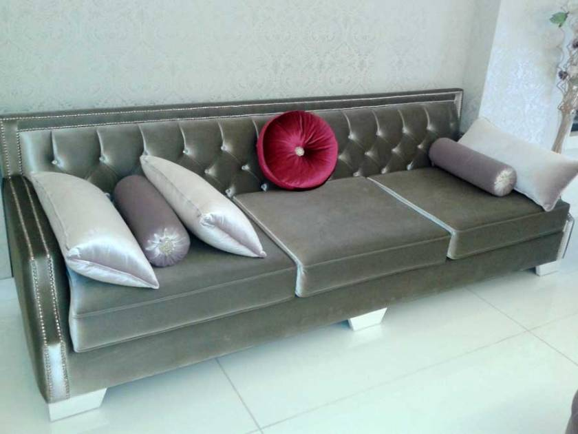 Luxury Velvet Modern Sleeper Sofa Bed Luxury Loveseat