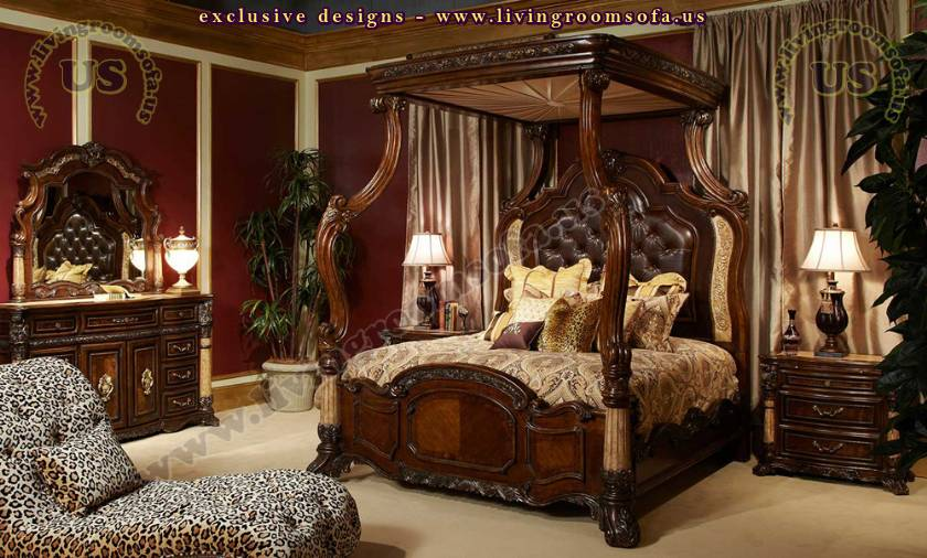 Luxury Victorian Bedroom Antique Design idea