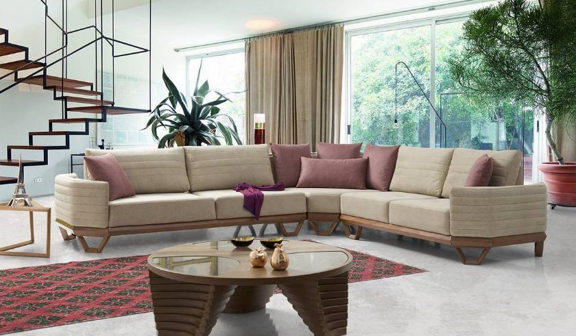 Modern Contemporary Luxury Corner Sofa Italian Sofa Design