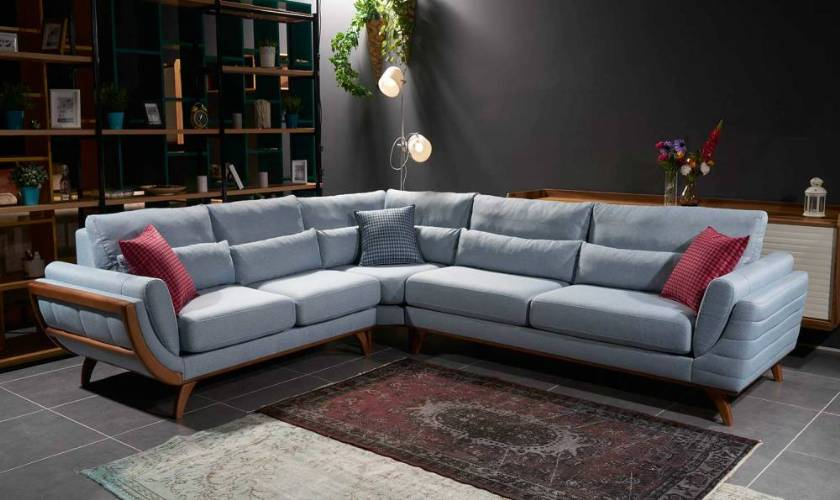 modern corner sofa new style luxury living room design