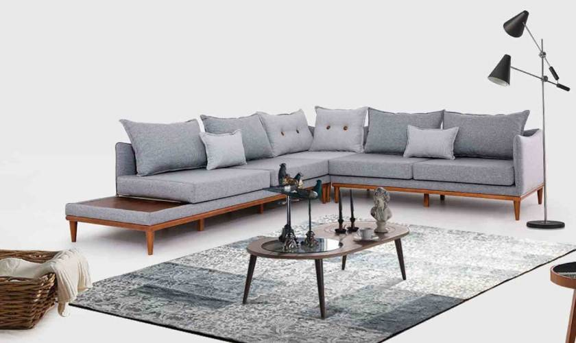 Modern Corner Sofa - Interior Design
