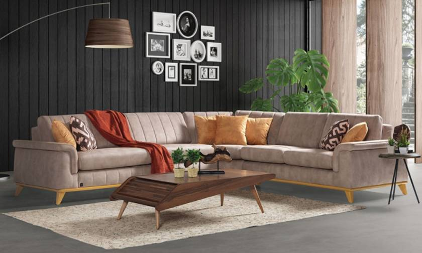 Modern Corner Sofa set design for modern living room