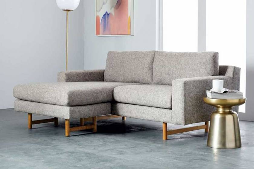 Modern Corner Sofa Small Modern Sofa Cute L shaped sofa
