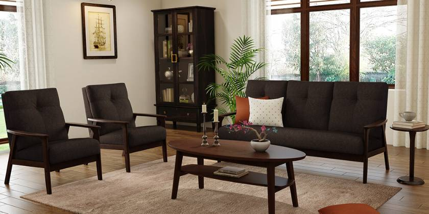 modern dark wood living room furniture modern sofa designs for living room