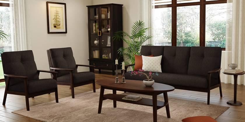 modern dark wood living room furniture modern sofa designs for living room