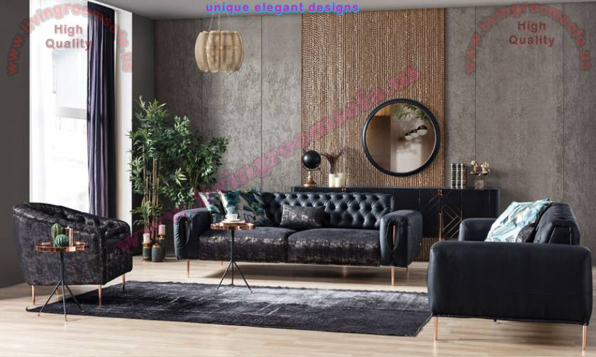 Modern Italian Leather Sofa Set Enjoy Get free