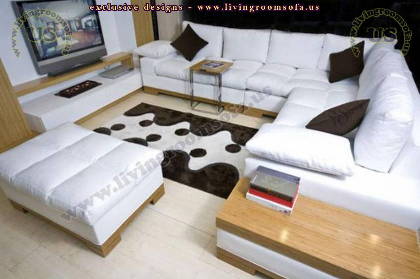 modern l shaped sectional sofa design
