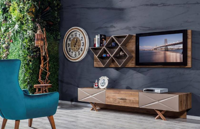 Modern living room wall units for tv entertainment unit is essential to make it as fashionable