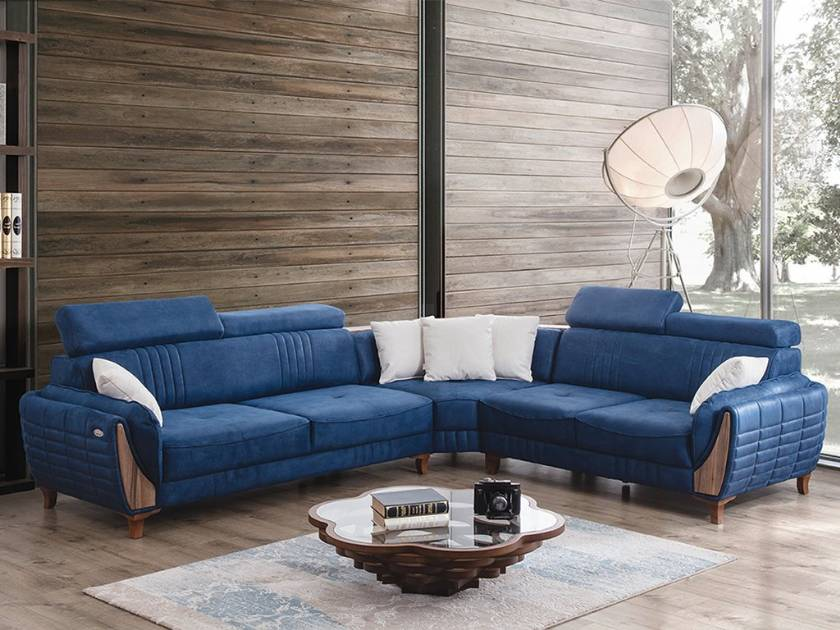 Modern Sectional Corner Sofa Luxury Modern Living Room Design