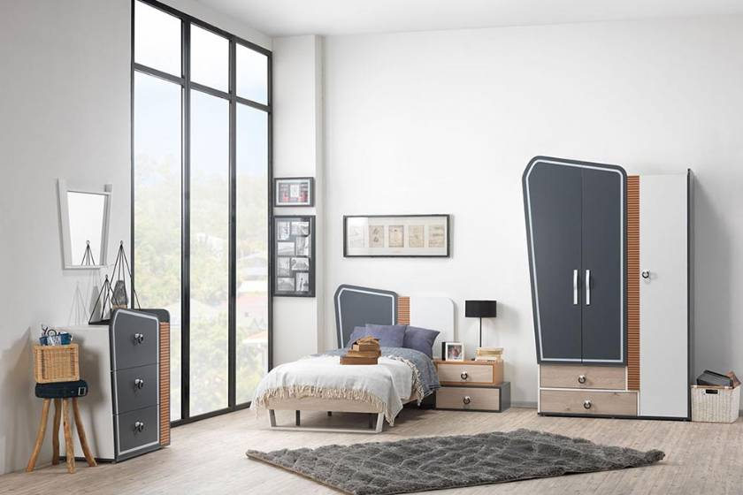 Modern teenage bedroom design new style for boys or girls