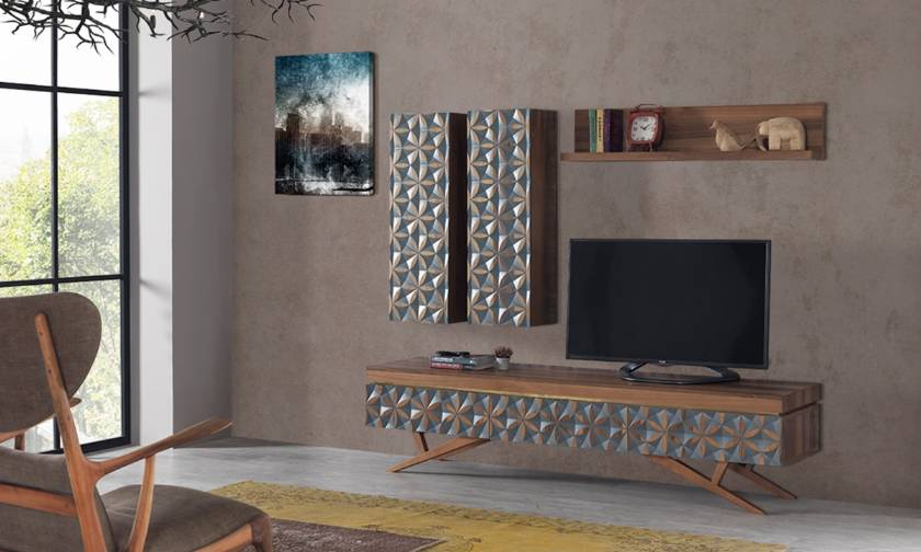 Modern TV Cabinet Wall Unit Living room Furniture ultra modern house