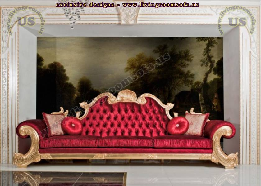queen traditional sofa elegant design