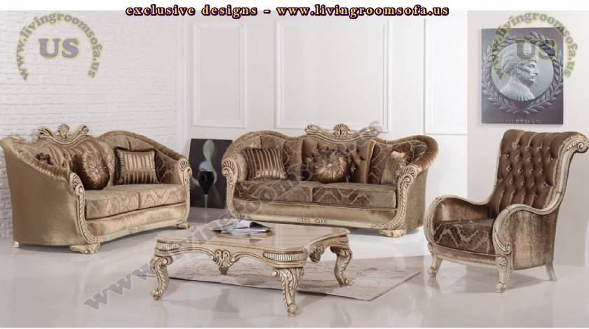 retro modern classic sofa set