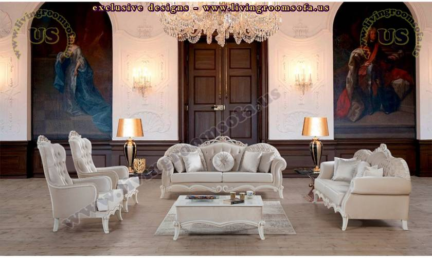 retro royal living room and sofa set elegant design