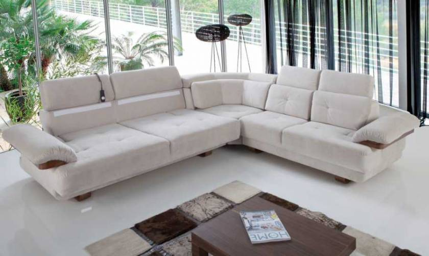 Seattle modern corner sofa modern living room design