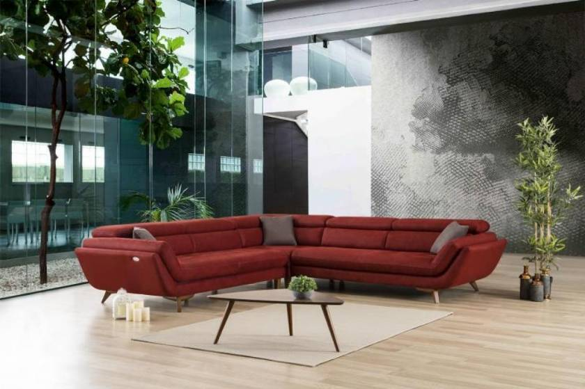 Sectional furniture sets modern design L shape sectional sofa set living room