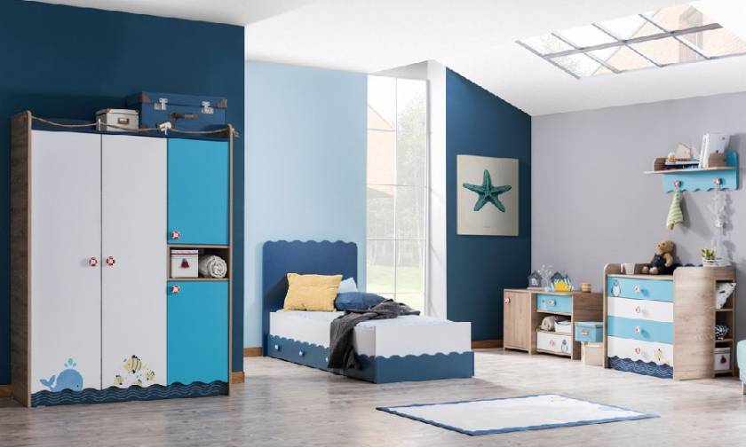 Starfish Teenage Bedroom Furniture Design Idea