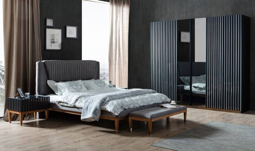 Texas Luxury Modern Bedroom Furniture High End Modern