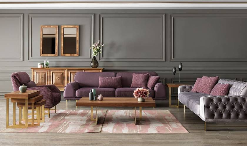 The perfect sofa set has great style flawless construction high-quality materials
