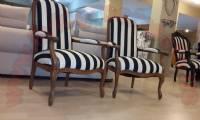 Black and White unique couple Chairs design