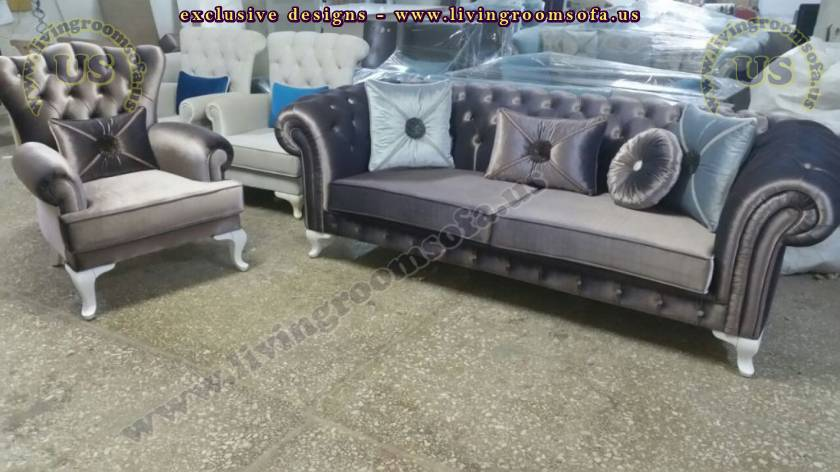 Distinctive Chesterfields Sofas Casual Comfort Exclusive Design
