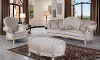 Elegant Traditional Luxury Sofa Love Seat Chair 3 Piece Formal Living Room Set
