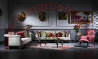 Elite Luxury Living Room Sofa Set Elegance art decor concept