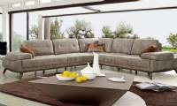European sectional sofa Sofa leather and fabric sofas colors textures and customizable options