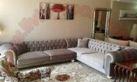 handmade sectional chesterfield sofa elegant living room design