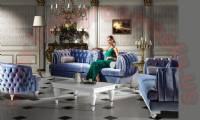 Lady Luxury Chesterfield Sofa Set Luxurious Living Room Designs