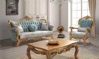 Luxury European Classic Royal Living Room Sofa Set