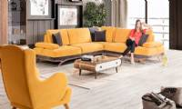 Luxury modern sectional sofa luxury yellow sectional sofas