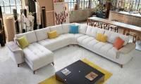 Modern corner sofa large big corner sofa