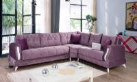 Modern Corner sofa loveseat L shaped sectional sofa design